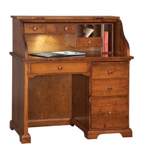 Amish Petite Roll Top Desk
