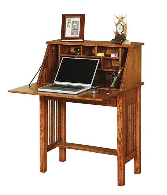 Amish Office Furniture American Arts and Crafts Secretary Desk