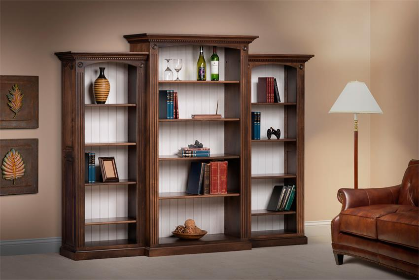 Amish Deluxe Bookcase