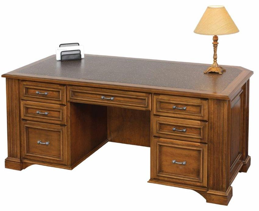 Amish Lincoln Executive Desk