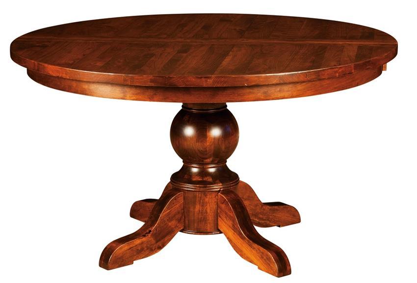 Amish Carson Pedestal Table