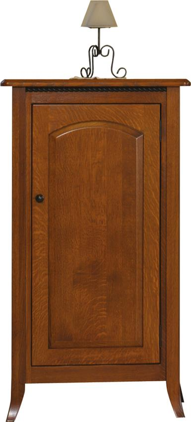 Amish Bunker Hill Jelly Cupboard Cabinet
