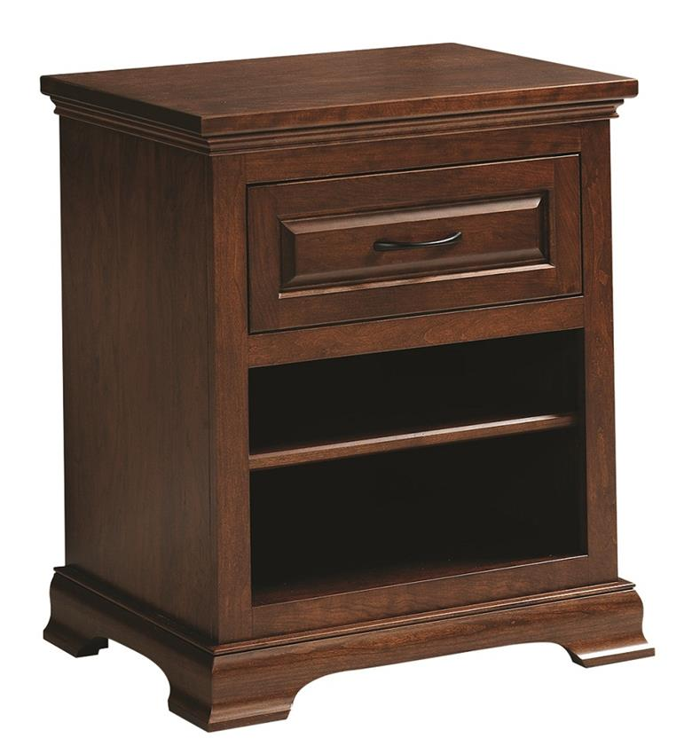 Amish Wilkshire One Drawer Nightstand