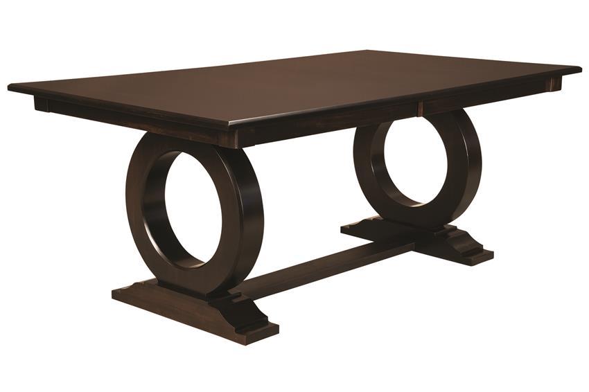 Amish Manhattan Trestle Table