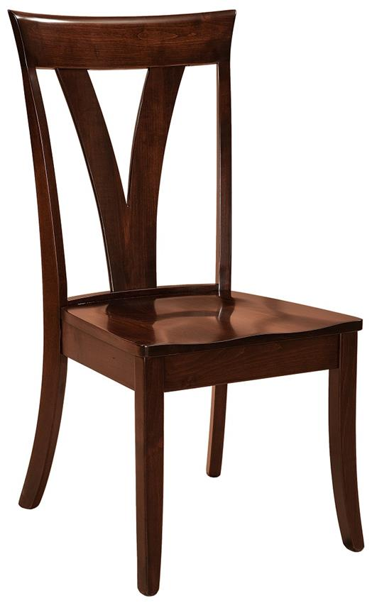 Levine Amish Contemporary Dining Room Chair