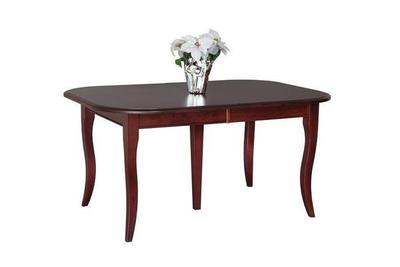 Amish Rectangular French Country Dining Table