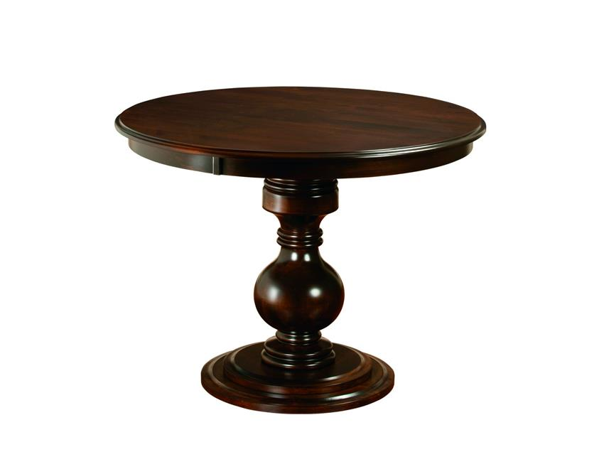 Amish Stanton Single Pedestal Pub Table