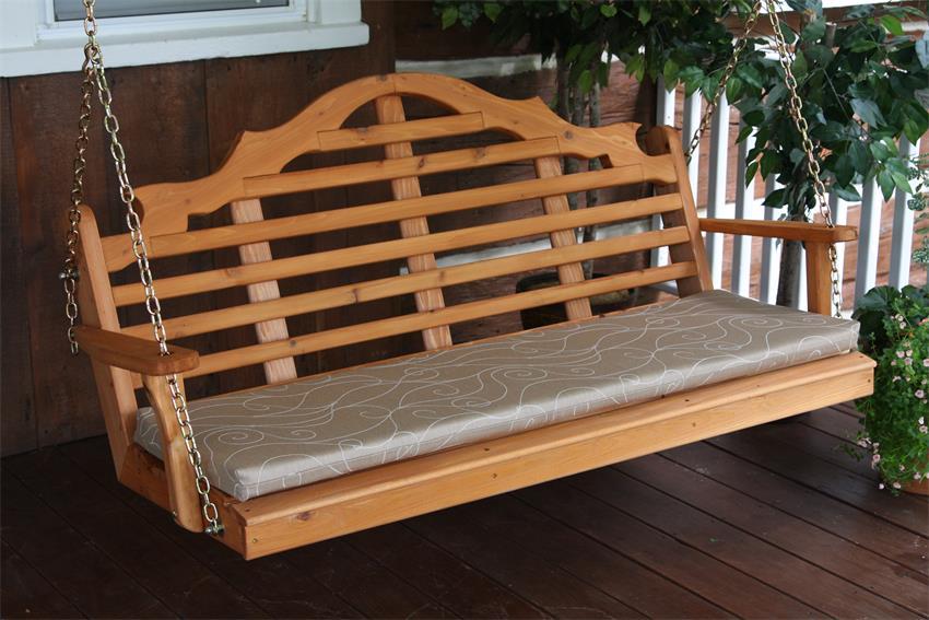 Amish Cedar Wood Marlboro Swing
