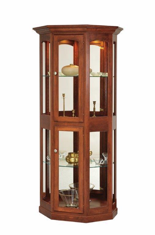 Amish Display Case Curio Cabinet