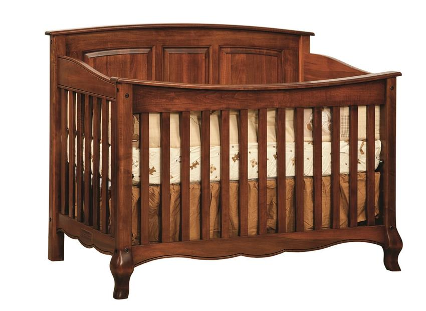 Amish French Country Convertible Crib