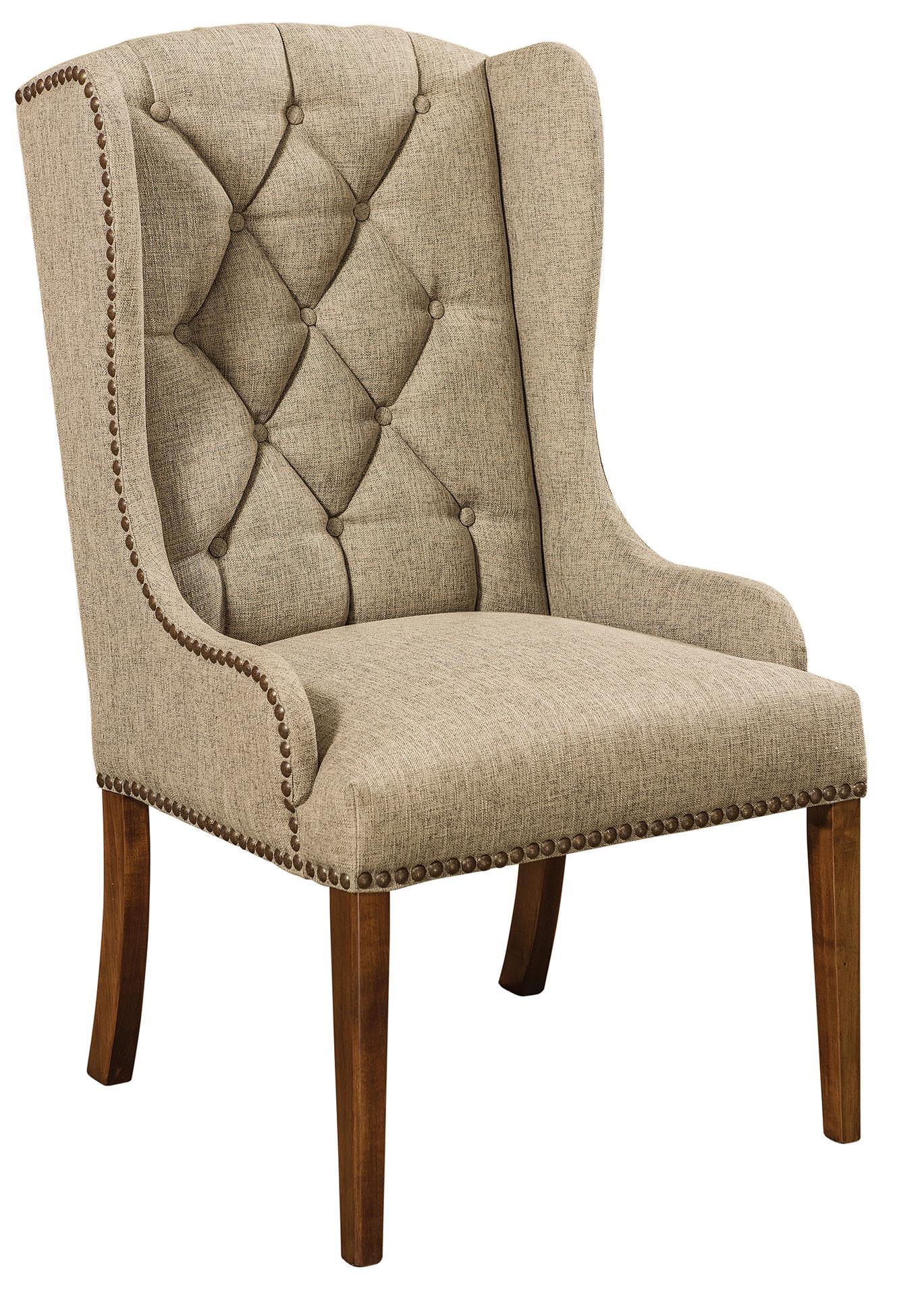 Amish Bradshaw Dining Arm Chair