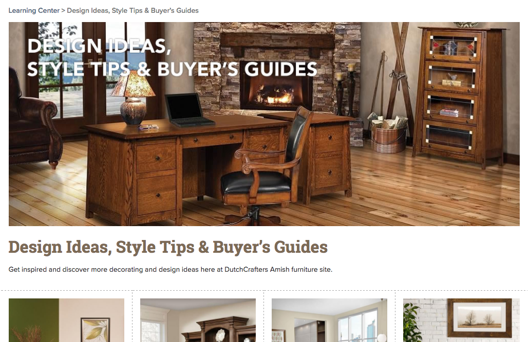 Design Ideas, Style Tips & Buyer's Guides Main Image