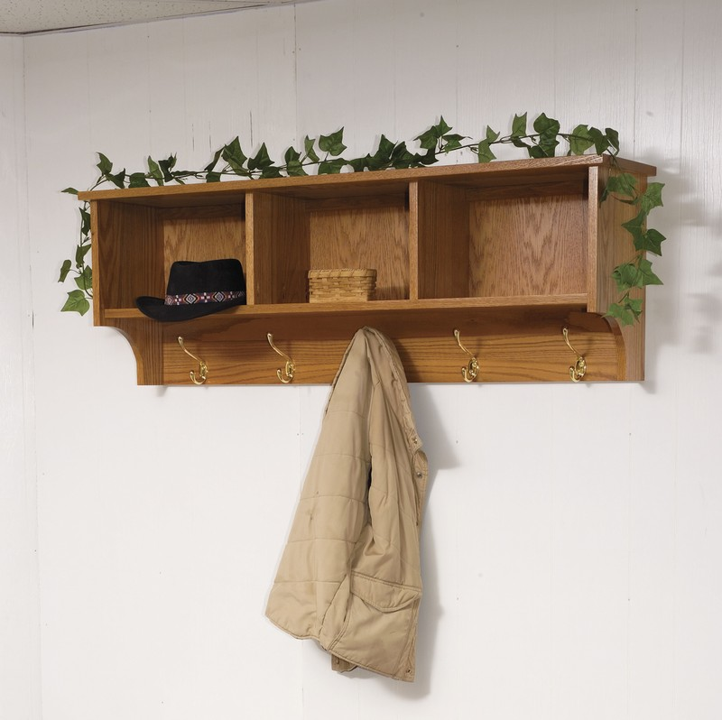Amish Traditional Hanging Wall Shelf