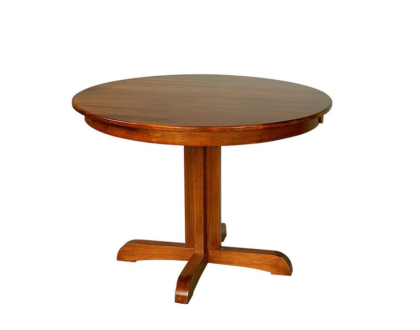 Austin Amish Furniture Pedestal Dining Table