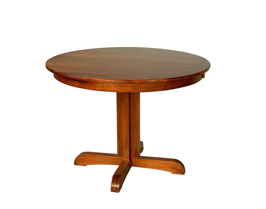 Austin Amish Furniture Pedestal Dining Table