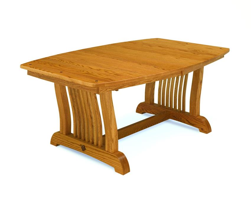 Amish Made Royal Mission Trestle Table