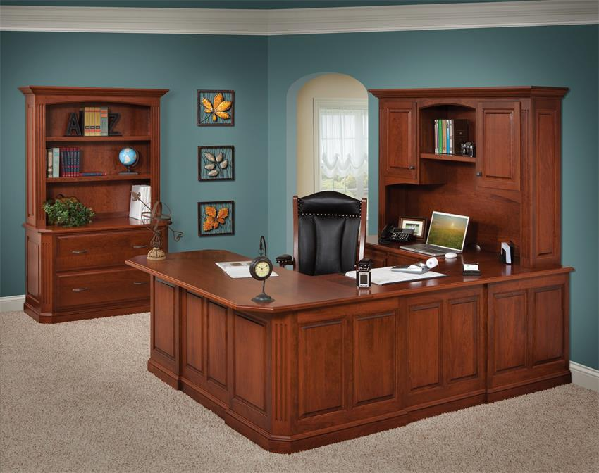 Amish Buckingham U-Shaped Desk