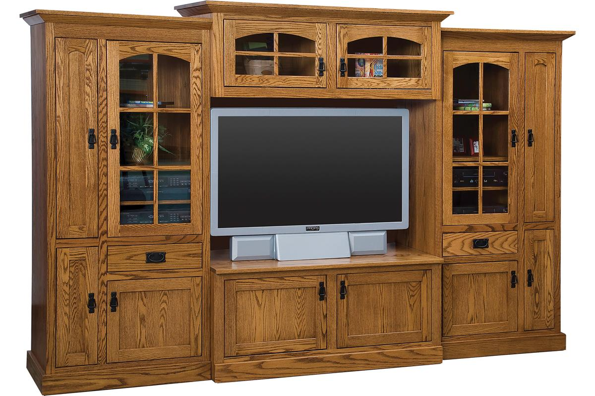 Amish Mission Deluxe Wall Unit