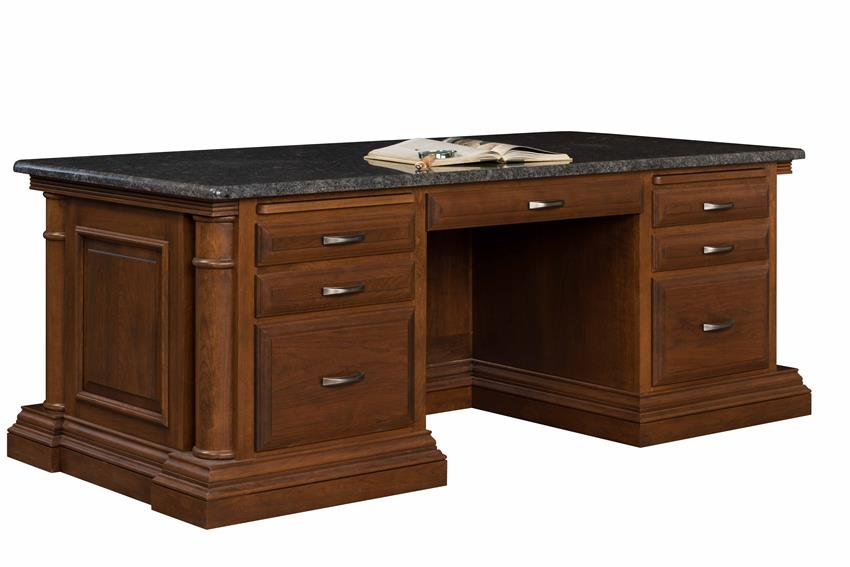 Amish Paris Executive Desk