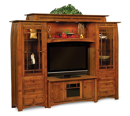 Manhattan Mission 5 Piece Wall Unit