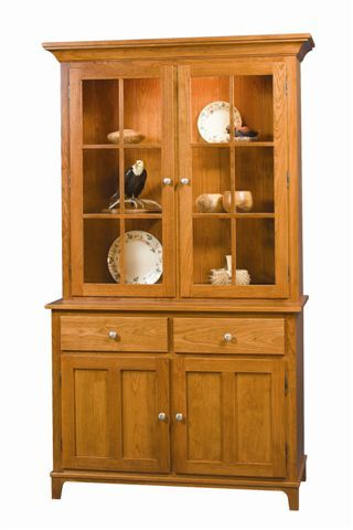 Amish Estate Shaker Hutch