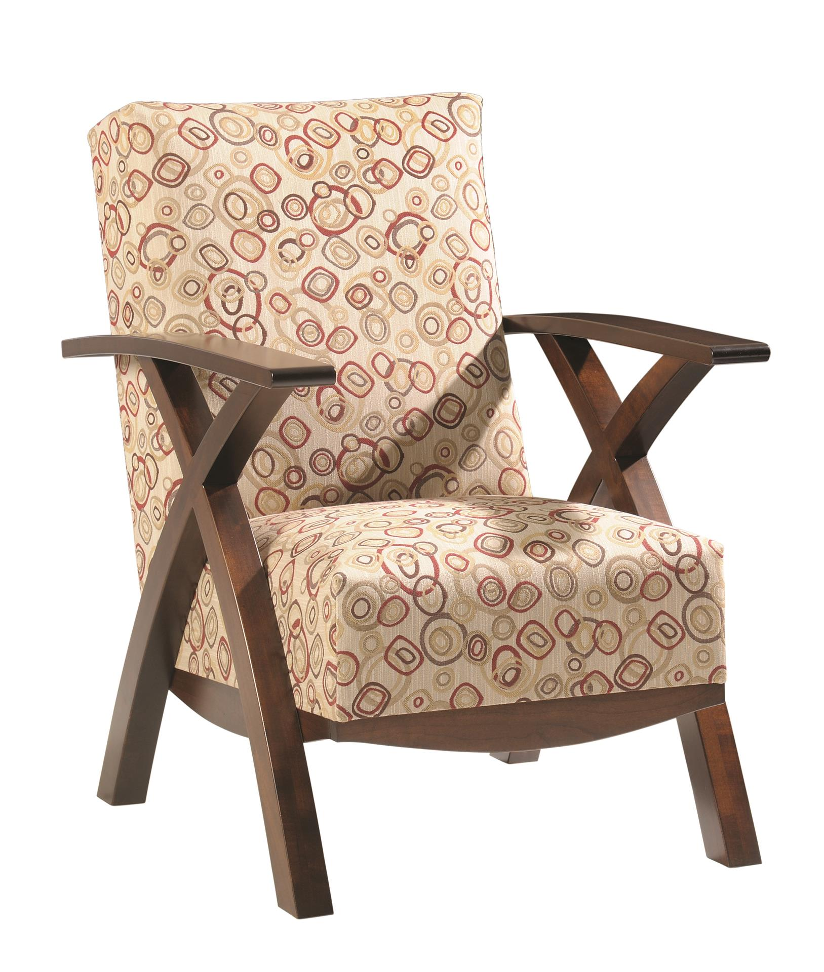 Amish Bristol Cross Lounge Chair