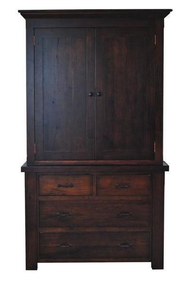 Amish Walnut Grove Armoire