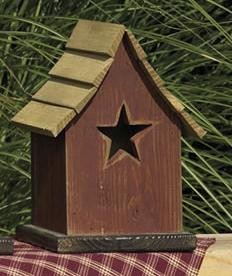 Amish Little Star Garden Bird House