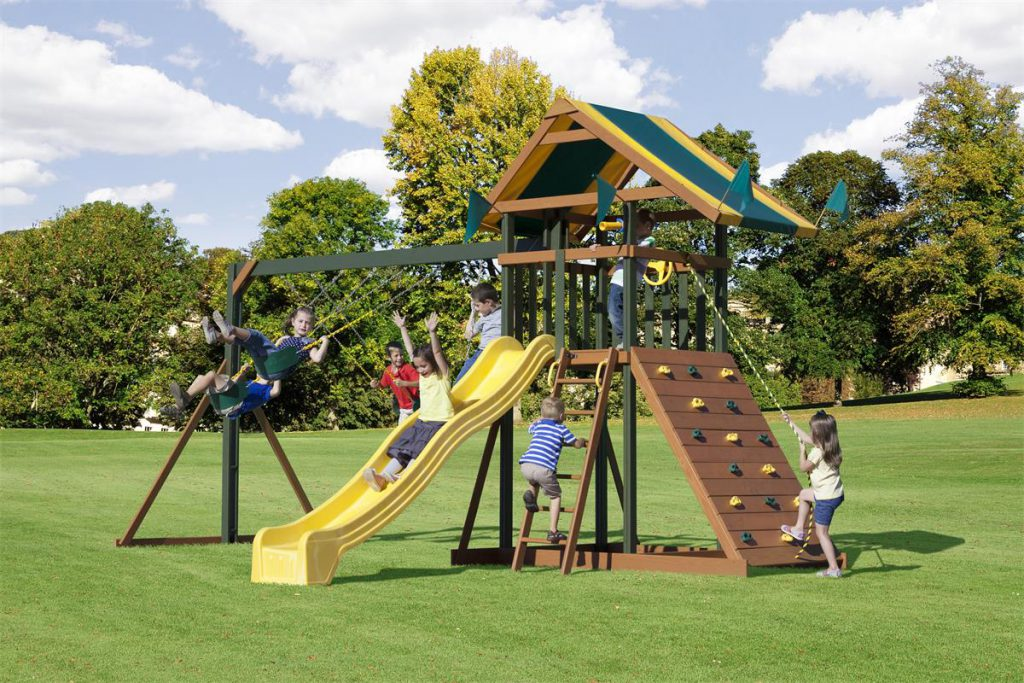 Amish Boredom Buster Swing Set