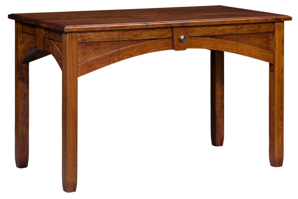 Amish Kensing Writing Desk with One Drawer
