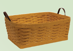 Amish Eco Friendly Small Clothes Basket