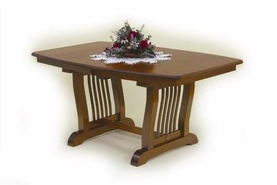 Amish Royal Mission Trestle Table