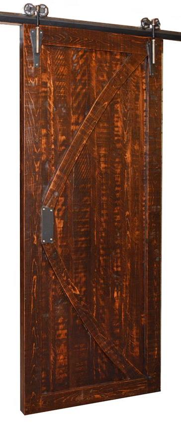 Rustic Carlisle Sliding Barn Door