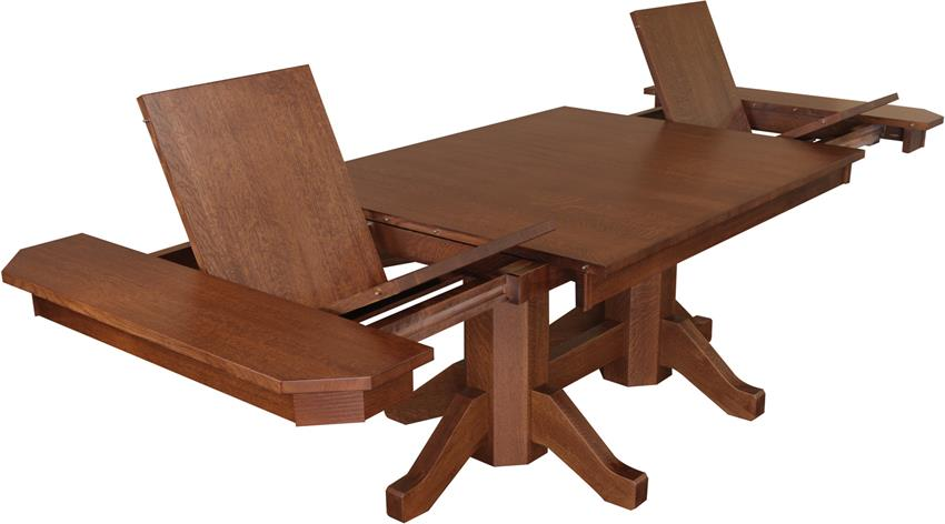 the dish on dining table extensions timber to table rh dutchcrafters com Kitchen Tables with Extensions Dining Room Sets Rectangular