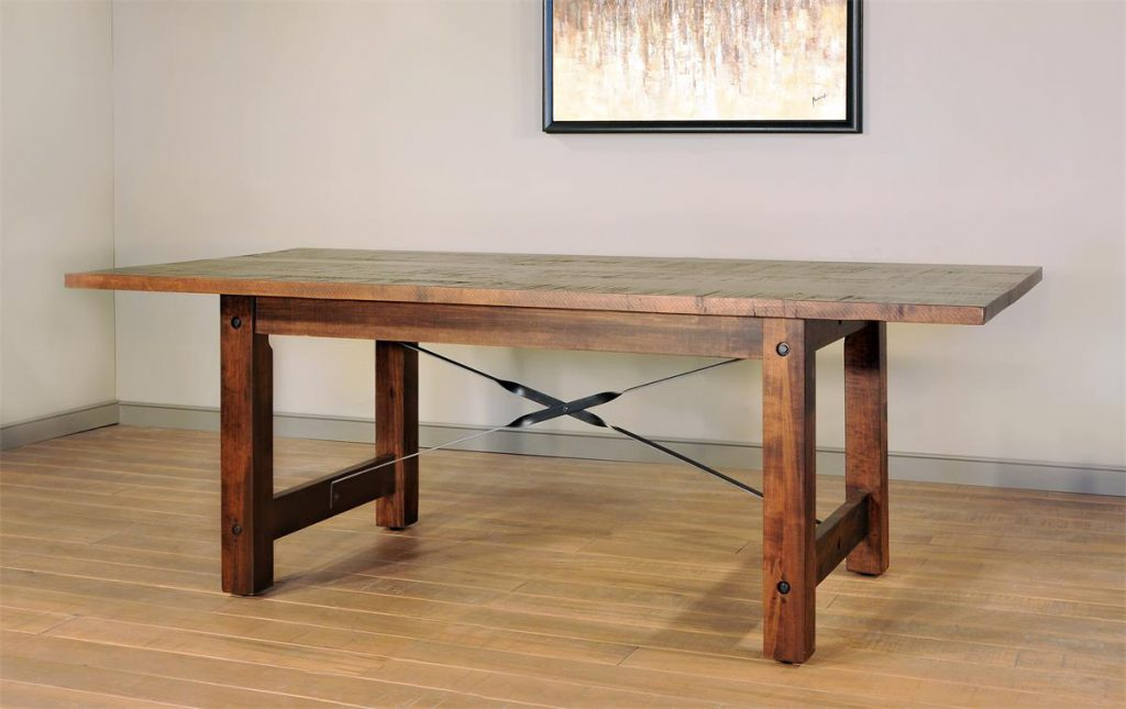 Ruff Sawn Beam Dining Table