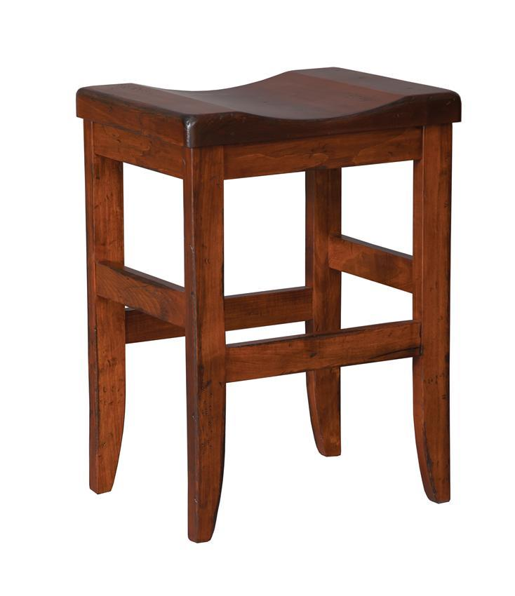 Amish Clifton Mission Backless Bar Stool