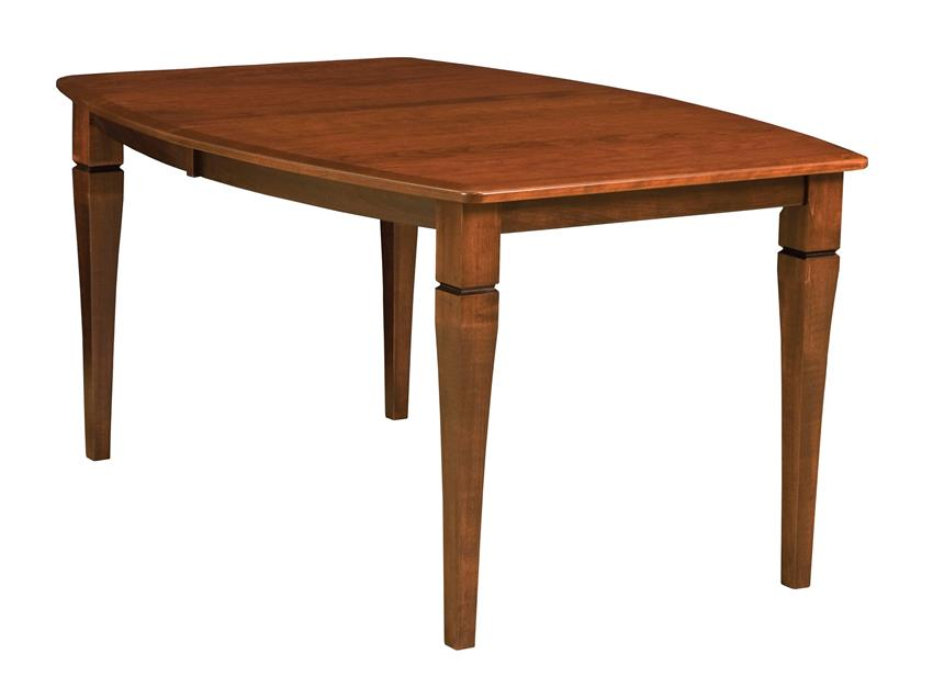 Amish Mansfield Dining Room Leg Table