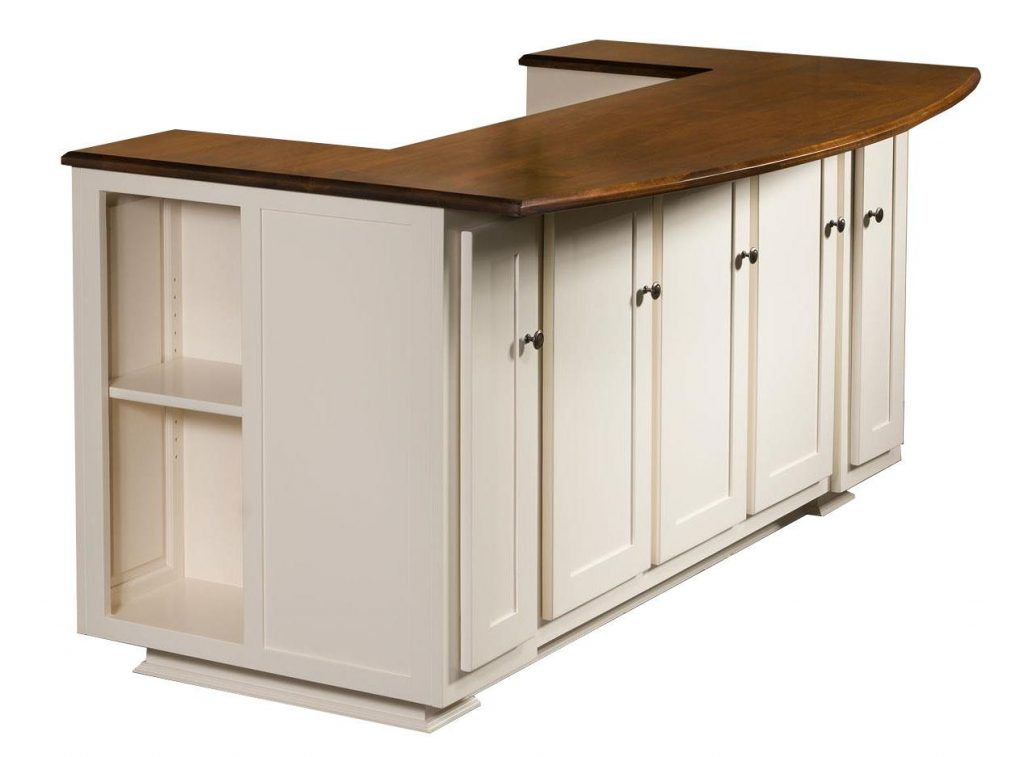 Amish Newbury Kitchen Island