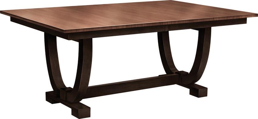 Amish Falcon Trestle Table