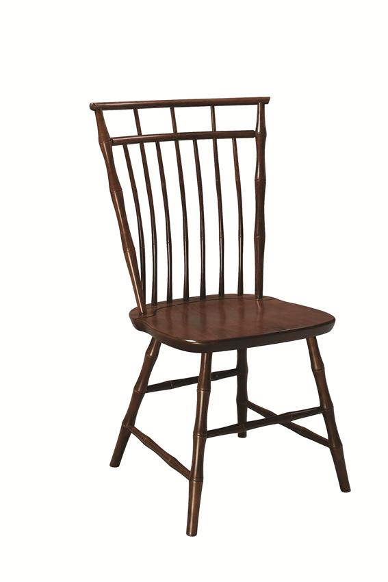 Amish Colonial Birdcage Windsor Cherry Wood Chair