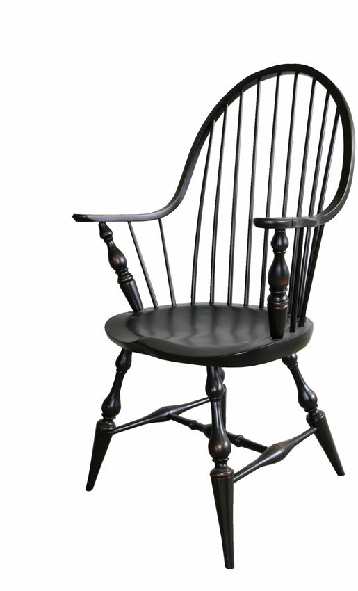 Amish Windsor Continuous Bow Chair