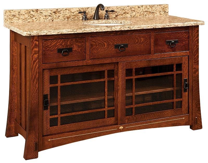 Morgan Single Bathroom Vanity Cabinet