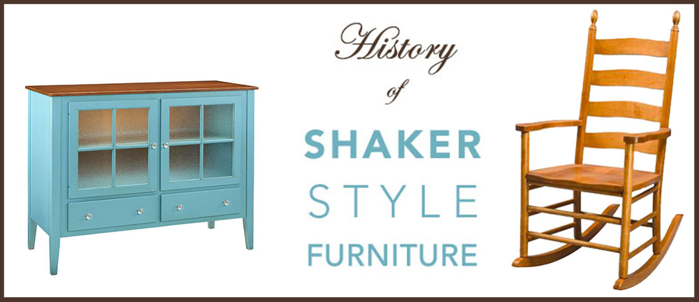 History of Shaker Style Furniture Blog Banner Image