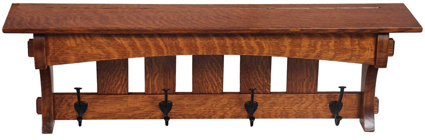 Amish Hardwood 36 Aspen Mission Shelf