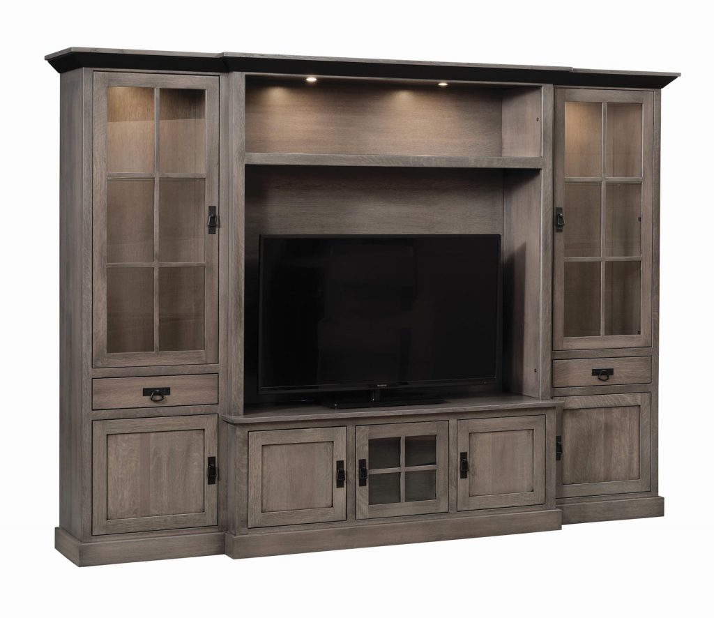 The Amish Lynwood Wall Unit