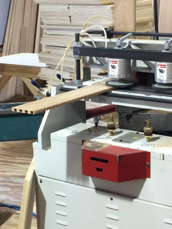 A machine that makes dovetail joints.