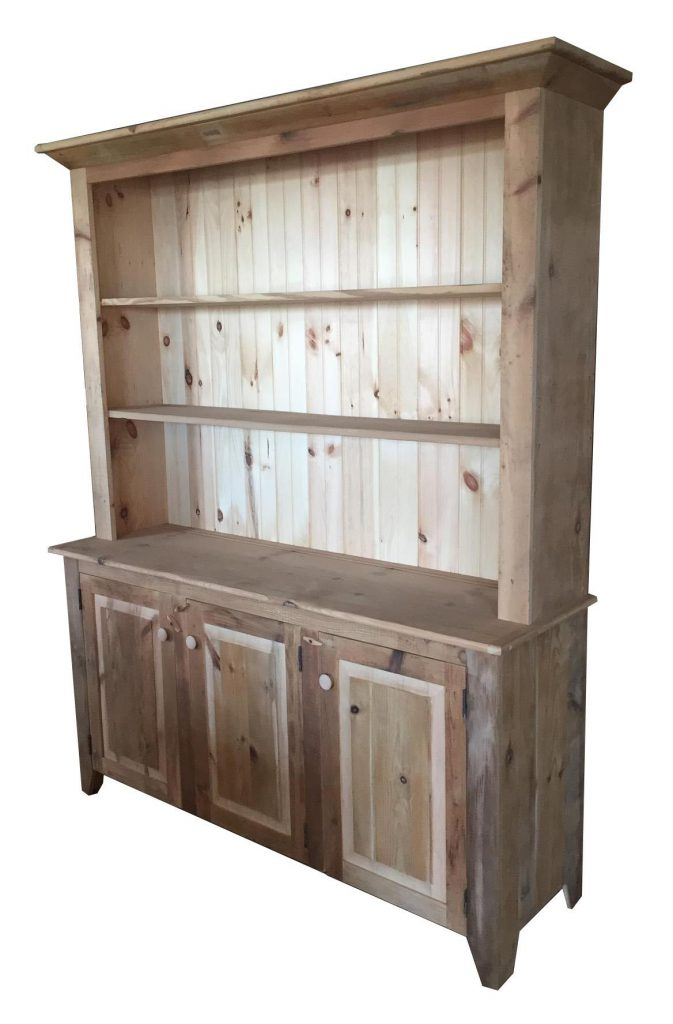 Rustic Barn Wood Hutch