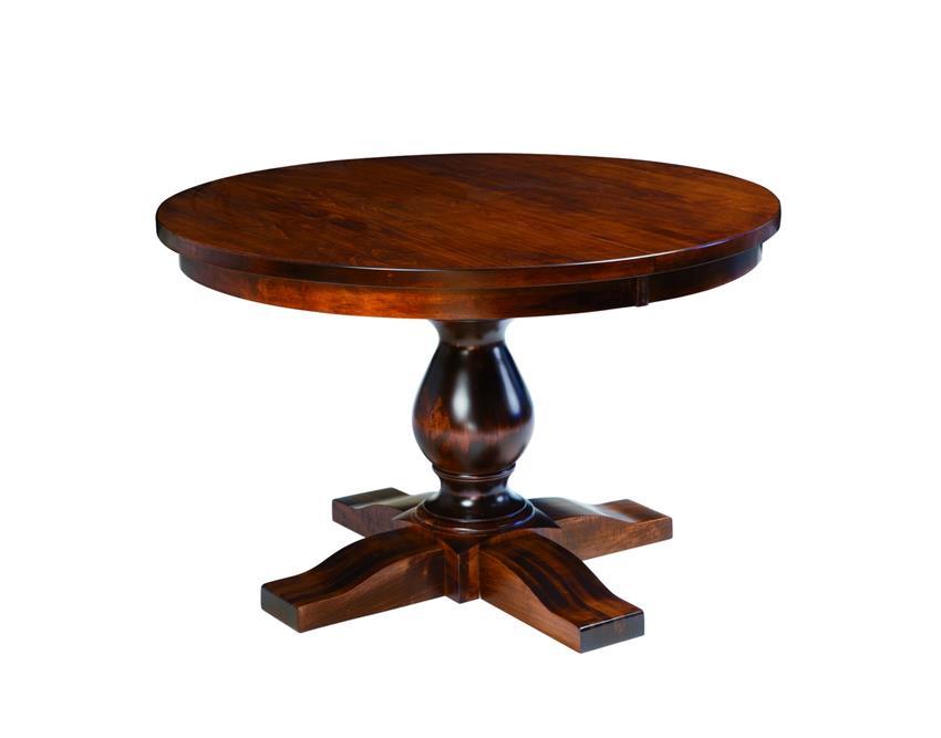 Amish Salem Single Pedestal Dining Table