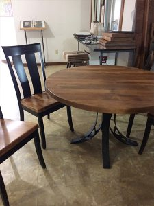 The Amish Oslo Round Dining Table