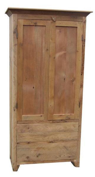 Reclaimed Barn Wood Linden Armoire